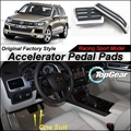 Car Accelerator Pedal Pad / Cover of Original Factory Sport Racing Model Design For VW Volkswagen Touareg 7P5 2010~2015 Tuning