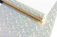 53 cm * 200 cm mosaico Luxo glitter brilhante folha de papel de parede papel de parede papel de parede de prata teto Início Adesivos Decalques