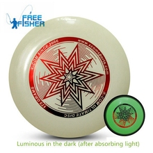 Freefisher светится x-com конкурс фрисби летающий темноте индикатор световой пляж диск