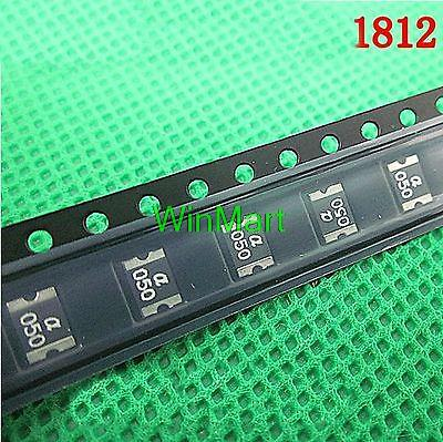 20 pieces 1812 SMD FUSES Resettable Chip Fuse Patch fuses 750mA 24V
