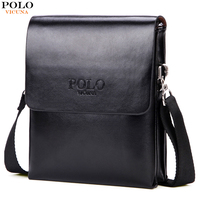 VICUNA POLO Hot Sell Small Mens Messenger Bag Mini Size Double Deck High Capacity Mens Crossbody