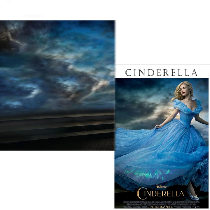 MEHOFOTO Vinyl Photography Backdrops Cinderella Fairy Tale New Fabric Flannel Photo Background For photo studio CM6744 mehofoto 8x12ft vinyl photography background christmas theme backdrops light for children snow for photo studio st 328