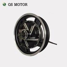QS 17 inch Do Motor 3kW 273 40 H V2 BLDC Scooter Elétrico Da Motocicleta no motor do cubo da roda com kits de conversão