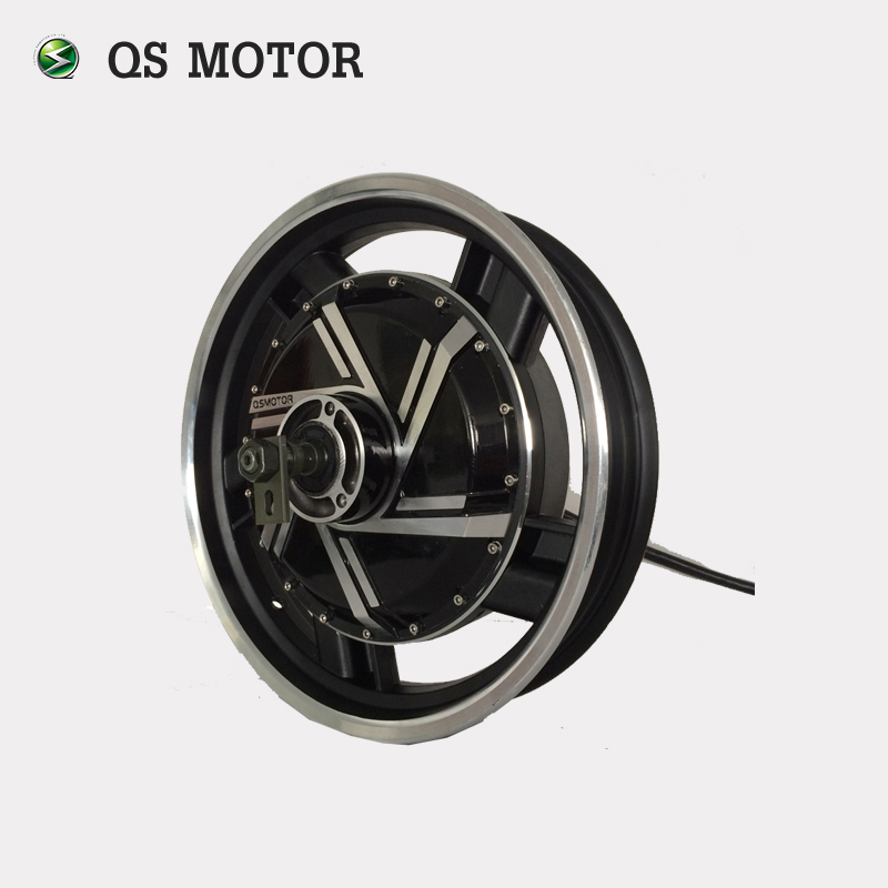 QS Motor 17inch 3kW 273 40H V2 BLDC Electric Scooter Motorcycle in wheel hub motor with conversion kits