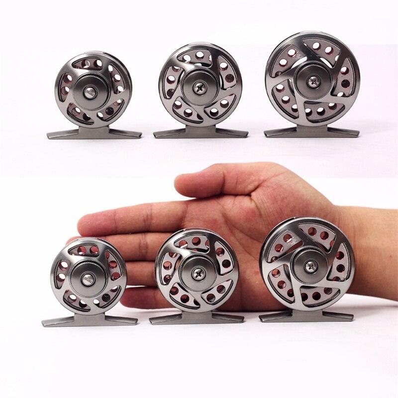 Metall Fliegenrolle Ultraleichte 4000-6000 Mini Tragbare 3Bearing - Angeln - Foto 3