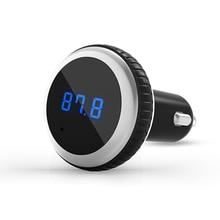 Car MP3 Player Bluetooth FM transmitter with Remote Control Wireless FM modulator Car Handsfree LCD screen w/ TF Micro SD Slot