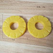 Пластиковая игрушка для кормления фруктов и ананасов модель