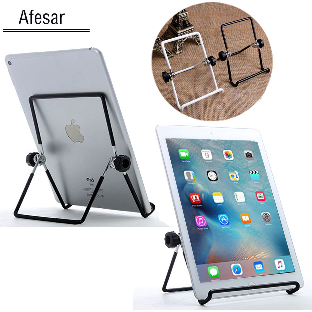 Afesar Universal Tablet Stand Mobile Cellphone Metal Dock holder Bracket For ipad iphone Samsung tablet Mount Support Tablette ...