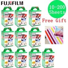 10-200 листов Fujifilm Instax Mini пленка с белым краем 10 20 40 60 80 100 200 листов для FUJI Instant instax mini 8 9 камера фото