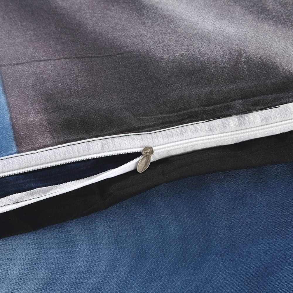 2019 Wild 3D Black Cat Bedlinens Microfiber Polyester Bedding Set US Twin Full Queen King Size Duvet Cover Pillowcases