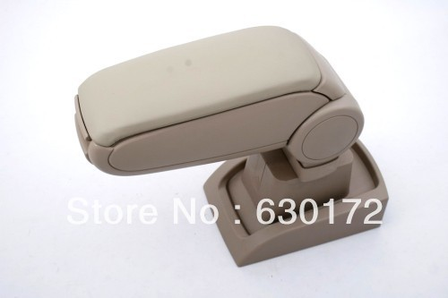 Center Console Armrest (Leatherette Beige) For Ford Fiesta 2009-2012