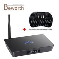 X92 3 GB RAM 32 GB Amlogic S912 7.1.2 Octa Core Android Smart TV Caja 2.4/5.8G Wifi 4 K H.265 Decodificador Reproductor Multimedia 3D PK M8S X96