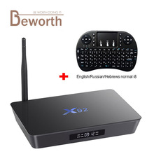 X92 3 ГБ Оперативная память 32 ГБ Amlogic S912 Octa core Android 6.0 Умные телевизоры Box 2.4/5.8 г Wi-Fi 4 К 3D H.265 Декодер каналов кабельного телевидения media player PK X96 M8S