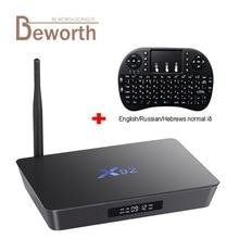 X92 3 GB RAM 32 GB Amlogic S912 Octa base Android 7.1.2 Smart TV Box 2.4/5.8G Wifi 4 K 3D H.265 Set Top Box Media Player PK X96 M8S
