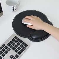 Maus pad mit handgelenk unterstützung komfort hand rest anti-skid ergonomische gaming mauspad