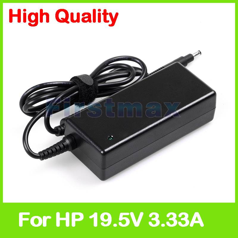 19.5V 3.33A 65W laptop charger AC adapter for <font><b>HP</b></font> <font><b>Envy</b></font> <font><b>Spectre</b></font> XT Ultrabook 13-2000 13T-2000 4T-1200 CTO Chromebook <font><b>14</b></font>-c000 image