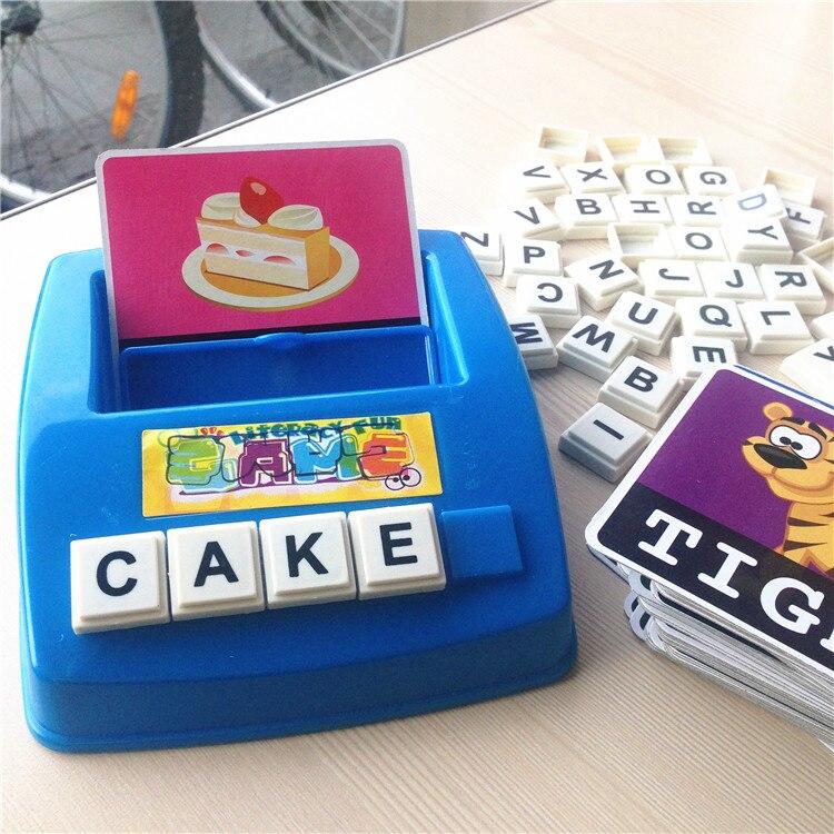 Aliexpress.com : Buy Literacy Fun Game English Word ...