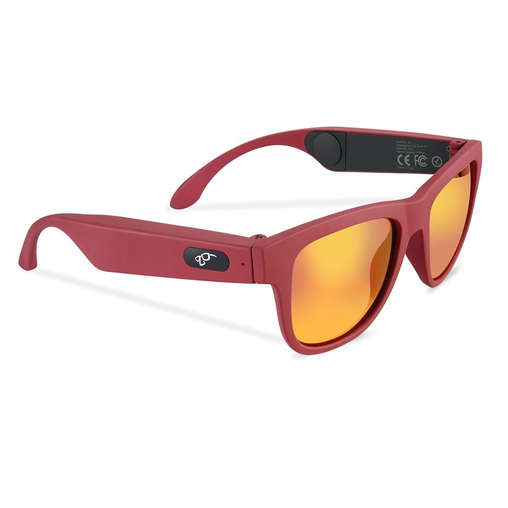 G1 / K2 Polarized Sunglasses Smart Touch Microphone Bone Conduction Headsets Stereo Bluetooth Earphone Wireless Headphones Glass