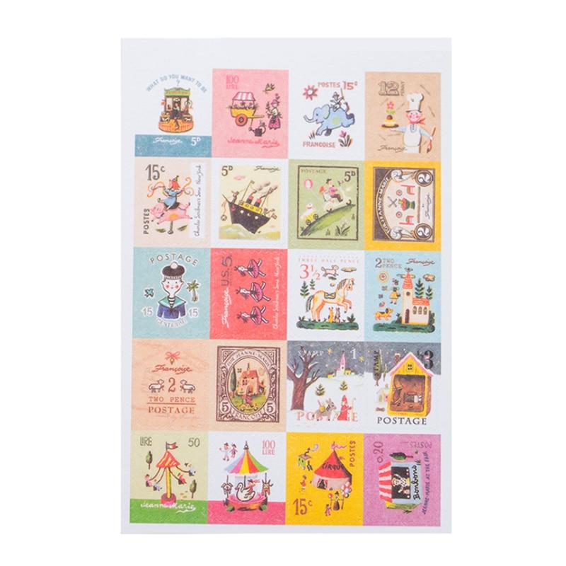 130 Pegatinas de Mini Personalizado Etiquetas Sellos hecho a mano por Pan De Jengibre Hombre Mini