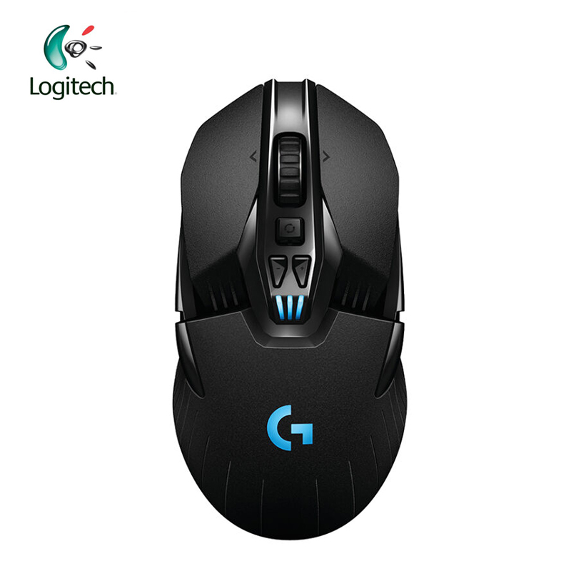 Logitech G900 Wired/Wireless Gaming Mouse Laptop Gamer Genuine Optical 12000DPI  Ergonomic Chaos Spectrum Official Agency Test logitech g pro gamer gaming mouse 12000dpi rgb wired mouse official genuine usb gaming mice for windows 10 8 7