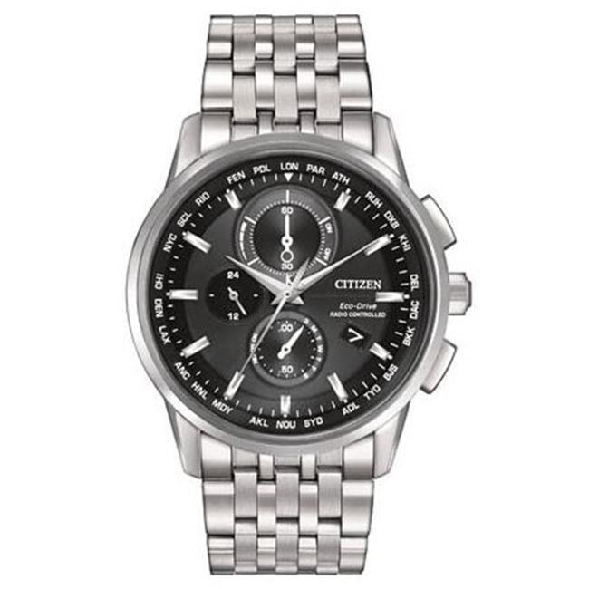 Citizen Eco-Drive World Chronograph A-T Mens Watch AT8110-53E citizen citizen ca4280 53e