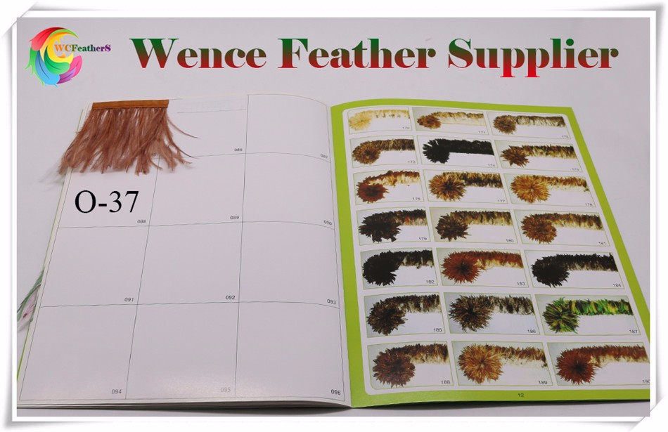 ostrich feather trims color chart 4