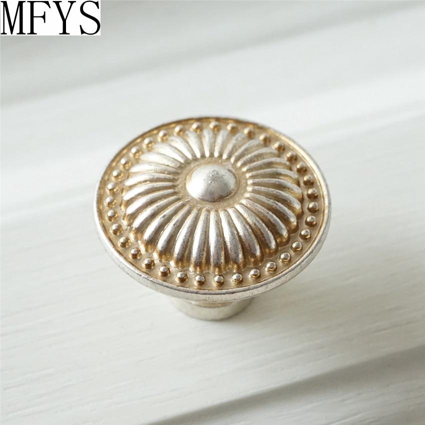 Dresser Knobs Antique Silver Gold Drawer Knobs Handles
