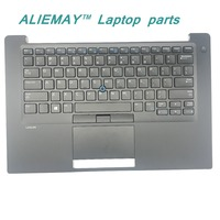 Brand New Original Laptop Parts For DELL LATITUDE E7480 7480 Backlit Trackpoint US Keyboard Palmrest With