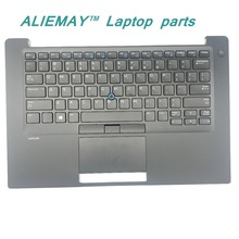 купить brand new original laptop parts for DELL LATITUDE E7480 7480 Backlit  Trackpoint US keyboard palmrest with touchpad дешево