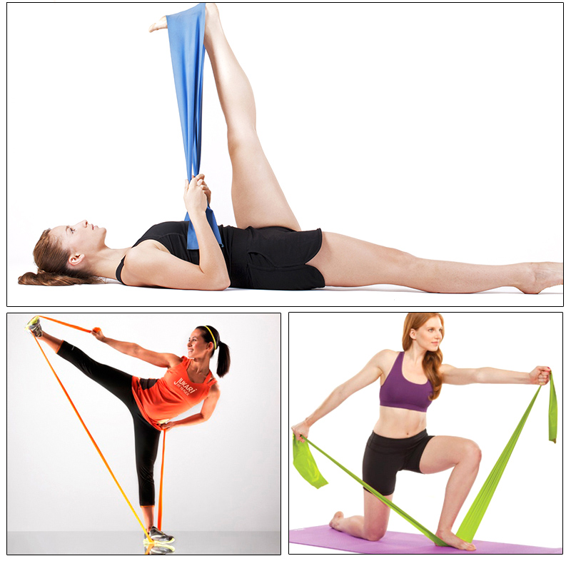 Yoga Strength Bands Pull Rope Fitness Crossfit Pilates Resistance Bands Rubber Expander Rubber Gym Bodybuilding Elastic Training in Resistance Bands from Sports Entertainment