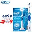 Oral B Электрическая зубная щётка 2D Clean вращающаяся зубная щетка перезаряжаемая зубная щётка зубные щётки двойные чистящие головки - фото