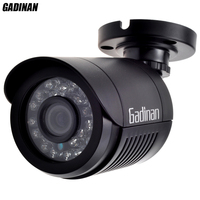 GADINAN Analog CCTV Camera 800TVL 1000TVL Bullet Waterproof HD 3 6mm Lens IR Cut Filter Night