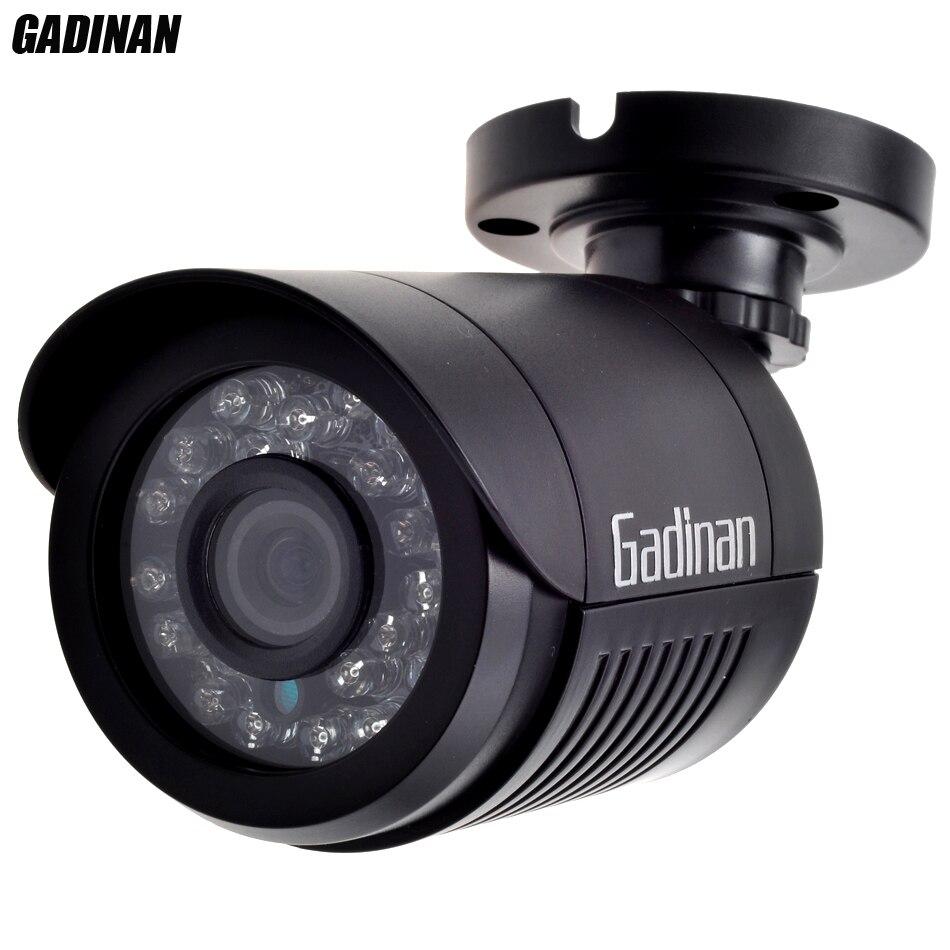 GADINAN Analogique CCTV Caméra 800TVL 1000TVL Bullet IP66 Étanche HD 3.6mm Objectif IR Cut Filtre de Vision Nocturne Mini ABS logement