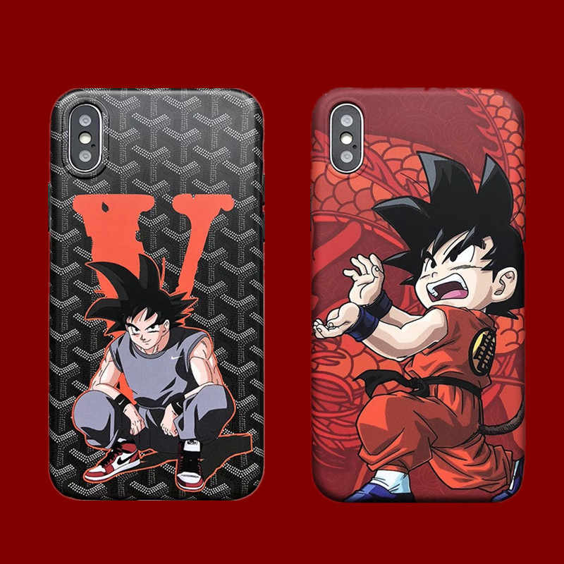 purchase cheap 0f163 92886 Hot Air Jordan Dragon Ball Super Z Son Goku soft silicon cover phone case  for iphone