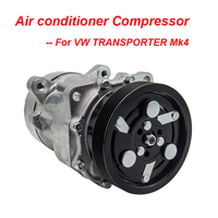 Air Con Compressor For VW TRANSPORTER Mk4 2.4D Air Con Compressor 90 03 AC Conditioning 7D0820805C car accessories car parts