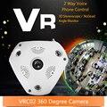 Câmera Panorâmica de 360 Graus Da Câmera HD 960 P Wifi IP P2P VR Câmera de Vídeo de Visão Noturna de Vigilância de Segurança Sistema de Câmera