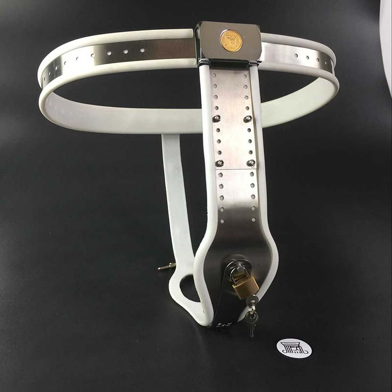 Stainless Steel Female Pants Chastity Belt with Anal Plug Chastity Lock Virginity Pants Adult Game Sex Toys for Women G7-5-36 chastity pants t type chastity belt with anal plug vagina plug double bolt stainless steel female sex product with lock g7 5 27 page 1