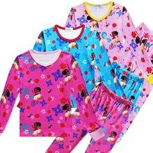 ea2eeb0e49ecb Pyjamas enfants Moana coton doux enfants pyjamas ensemble pour garçons vêtements  ensembles à manches longues tenue