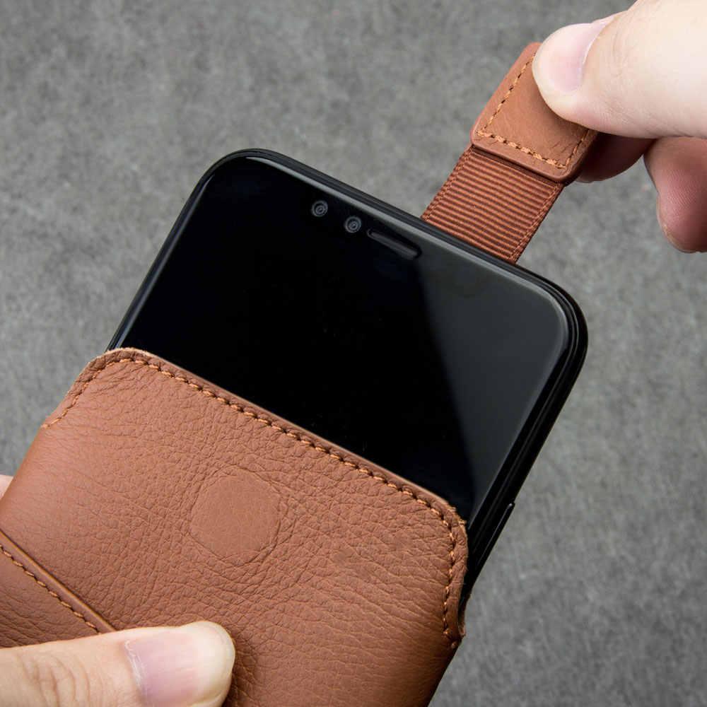 Чехол из натуральной кожи с длинным рукавом и натуральным лицевым покрытием для телефона samsung Galaxy S9/S9 Plus Qialino