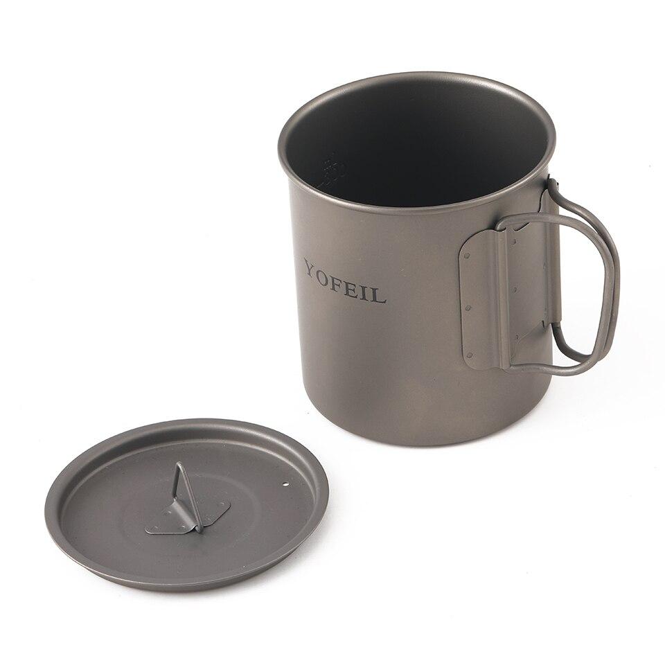 caneca de titanio copo acampamento caneca 03