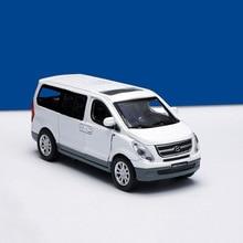 1/38 hyundai Starex Diecasts модель игрушечных автомобилей Литье металла сплава Ван игрушки автомобиль для детей