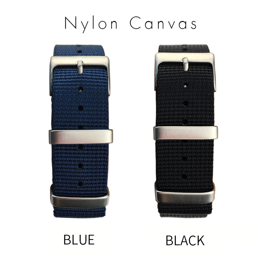 Sports Nylon Watchband Universal Watch Strap for Omega Hamilton Seamaster Calibre Bracelets Accessories 20mm 22mm Zulu Nato 007