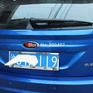Image 3 - 2 x New Design Car Styling Car Logo Cover Sticker Carbon Fiber Vinyl Decal Wolf Emblem for Ford Focus MK 1 Focus MK 2