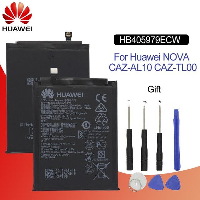 هوا وي الأصلي استبدال الهاتف بطارية HB405979ECW لهواوي نوفا/التمتع 6 S/الشرف 6C/Y5 2017 /P9 لايت البسيطة 2920 mAh