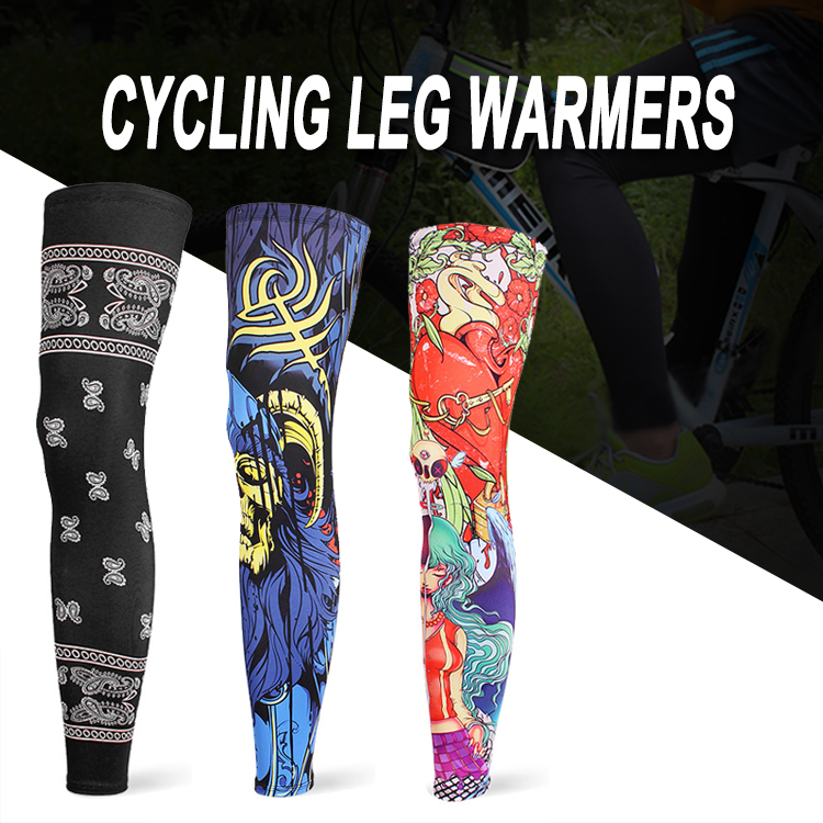 WOSAWE Anti UV Outdoor Sports Leg Sleeve Breathable Anti sweat Cycling Fishing Riding Hiking Basketball Motorcycle Knee Wamrer in Motorcycle Protective Kneepad from Automobiles Motorcycles