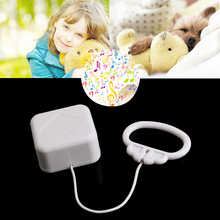 Pull String Cord Music Box White Baby Bed Bell Kids Toy Random Songs-P101