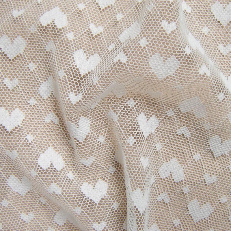 French White Net Lace Fabric Neuestes afrikanisches Spitzengewebe, - Kunst, Handwerk und Nähen - Foto 3