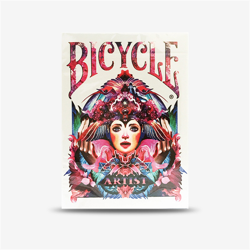 1 Deck Bicycle Artist Playing Cards TCC Poker Flower Cut ...