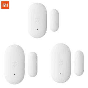 Image 1 - Venda empacotada original xiaomi mijia inteligente mini sensor de janela da porta bolso tamanho casa inteligente luzes automáticas para mihome app