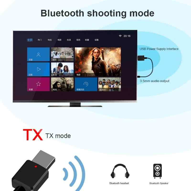Bluetooth אודיו מקלט משדר מיני 3.5mm AUX סטריאו אלחוטי מתאם